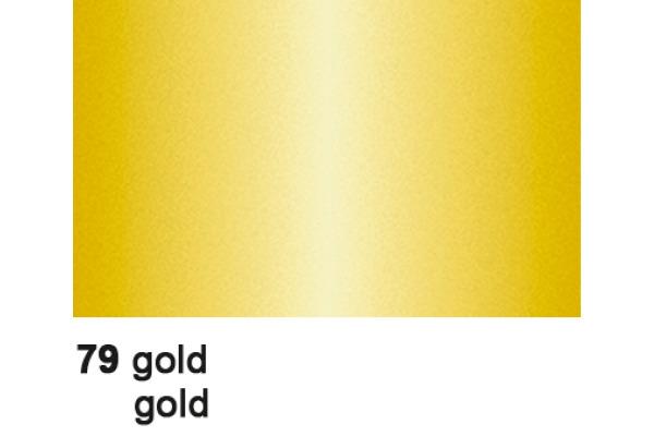 URSUS Plakatkarton 48x68cm 1002579 380g, gold