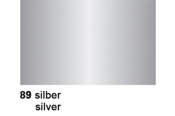 URSUS Plakatkarton 48x68cm 1002589 380g, silber