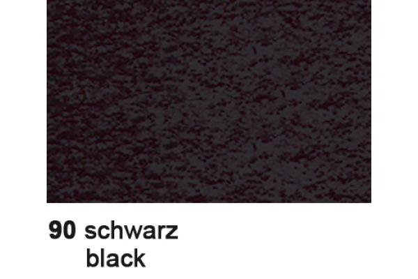 URSUS Plakatkarton 48x68cm 1002590 380g, schwarz