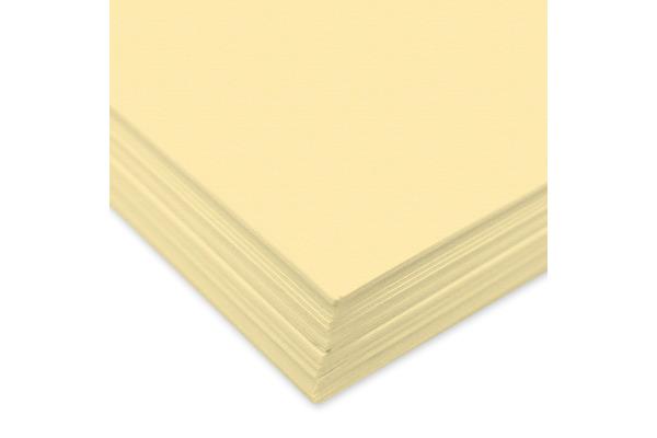 URSUS Tonzeichenpapier A4 2174611 130g, vanille 100 Blatt