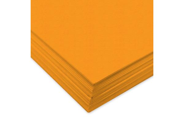 URSUS Tonzeichenpapier A4 2174614 130g, goldgelb 100 Blatt