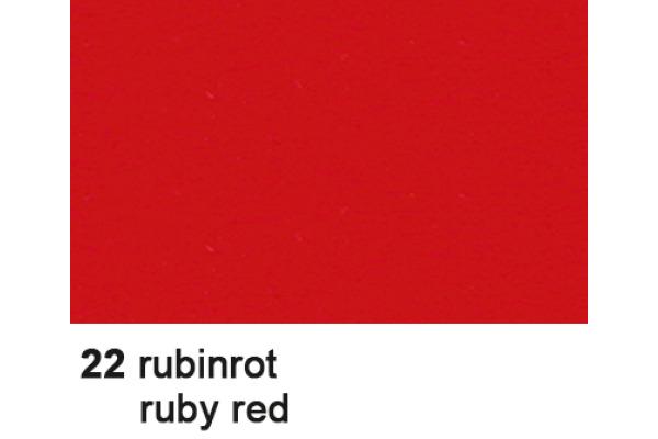 URSUS Fotokarton A4 3764622 300g, rubinrot 100 Blatt