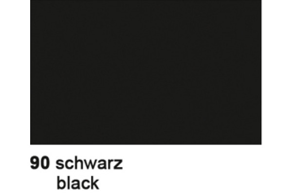 URSUS Seidenpapier 50x70cm 4642290 schwarz 6 Bogen