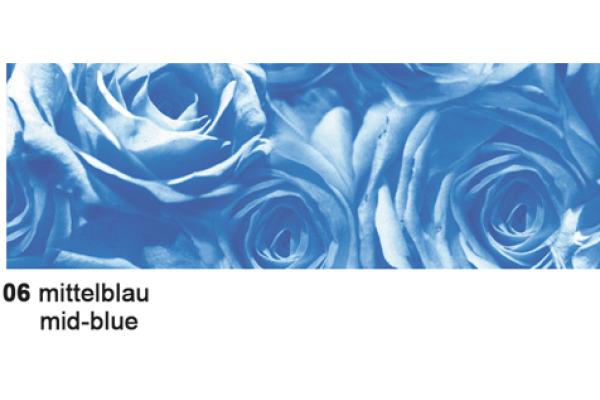 URSUS Karten/Couverts A6/C6 55610006 Rosen blau 5 Stück