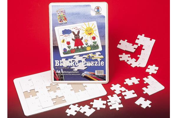 URSUS Blanko-Puzzle 29x37cm 8260000 weiss 72 Teile