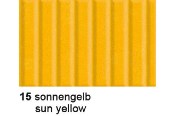 URSUS Wellkarton 50x70cm 9202215 260g, sonnengelb