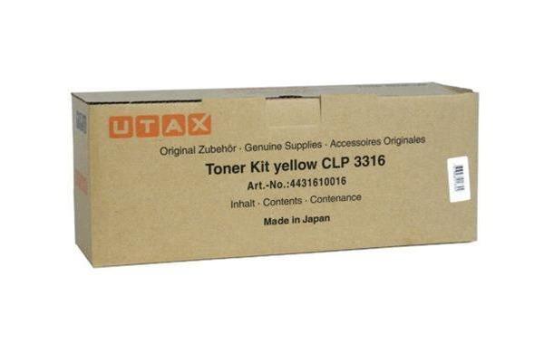 UTAX Toner-Kit yellow 444161001 CLP 3416/3524 8000 Seiten