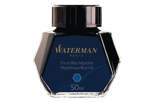 WATERMAN Tinte 50ml S0110790 blau schwarz