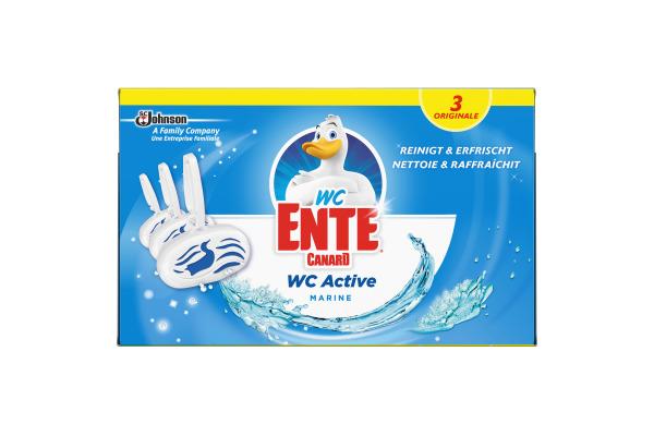 WC-ENTE WC Stein 973553 Active 3in1 Marine 3x40gr.