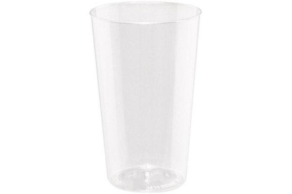 WEBSTAR Becher 3dl 27003 transparent 25 Stück
