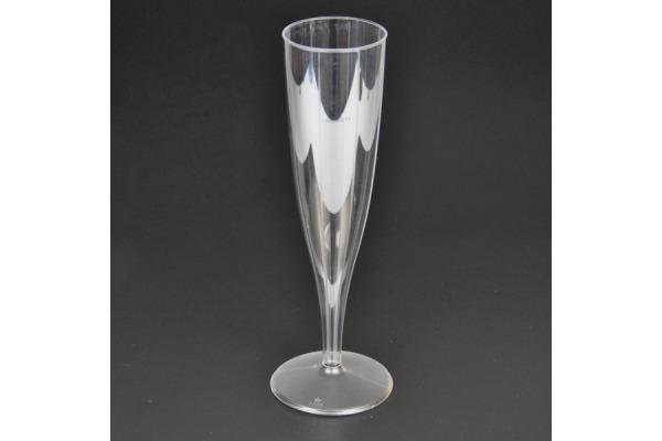 WEBSTAR Champagner-Kelch 1dl 30 transparent 10 Stück