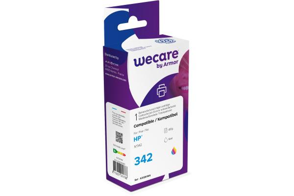 WECARE Tinte 342 rebuilt color C9361EEWE zu HP PSC 1510 14ml