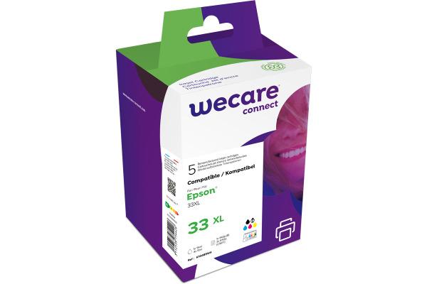 WECARE Multipack rebuilt CMYBKPBK T333740WE zu Epson XP-530 6.4/4x4.5ml