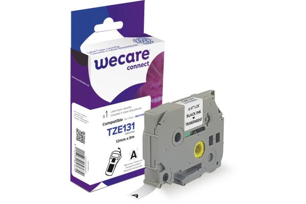 WECARE Band, laminiert schwarz/klar TZe-131WE ersetzt...