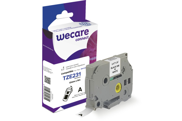 WECARE Band, laminiert schwarz/weiss TZe-231WE ersetzt...