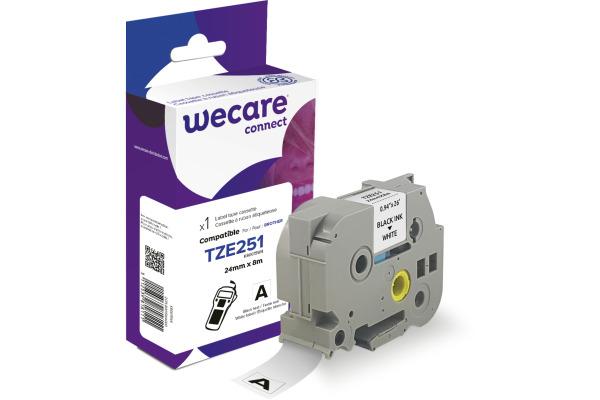 WECARE Band, laminiert schwarz/weiss Tze-251WE ersetzt...