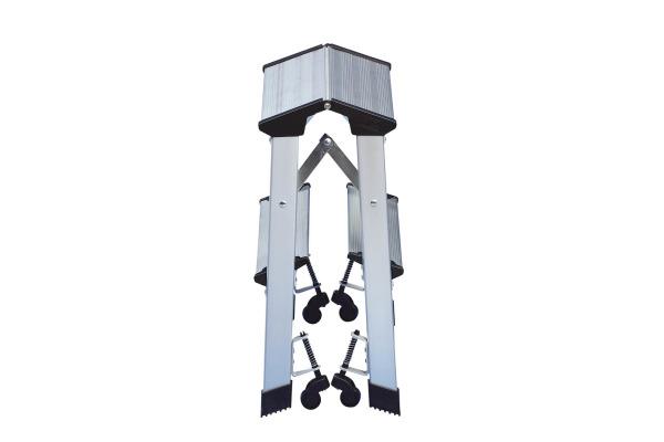 WEDO Trittleiter 53x41x44,5cm 215 1 2 Stufen, bis 150Kg