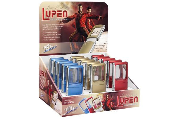 WEDO Lupe LED Ltd. Edition 271751549 ass. 3x 15 Stück