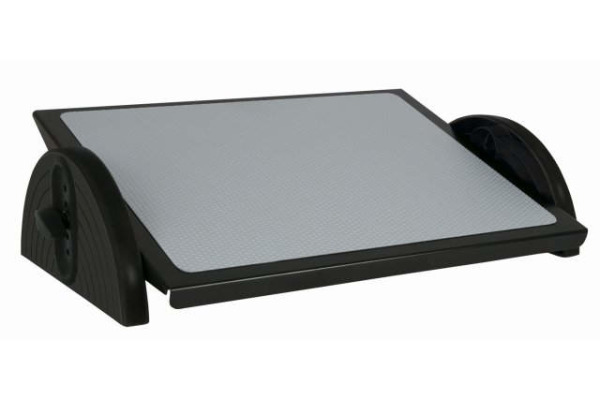 WEDO Fussstütze Relax-Steel 275 5001 schwarz 460x350mm