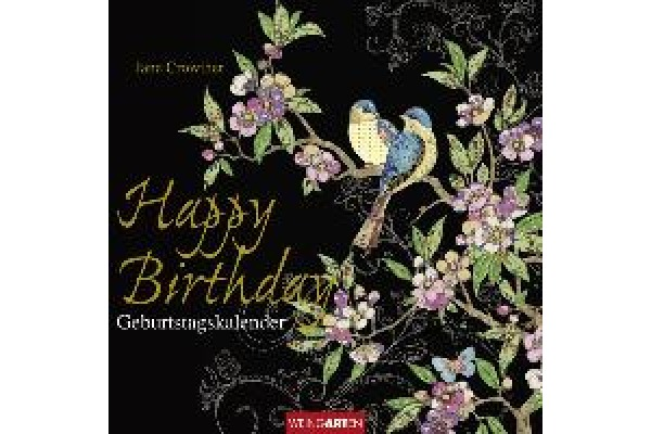 WEINGARTE Happy Birthday 840073076 DE, 20x20cm