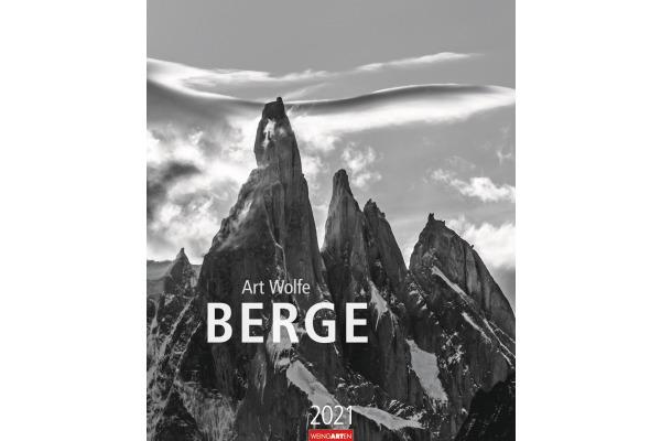 WEINGARTE Wandkalender Berge 840078897 DE,46 X 55cm,2021