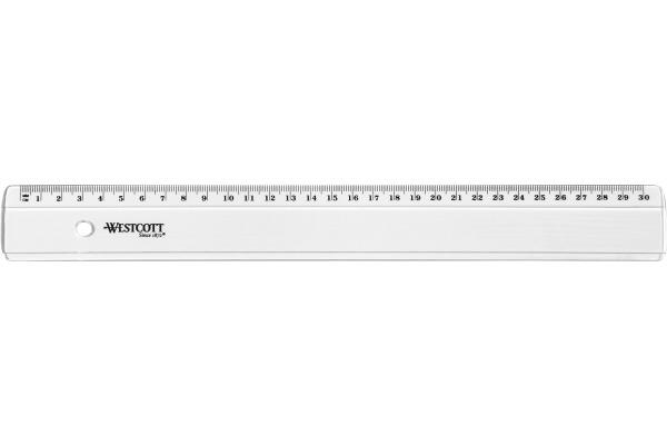 WESTCOTT Kunststofflineal 30cm E10152 BP