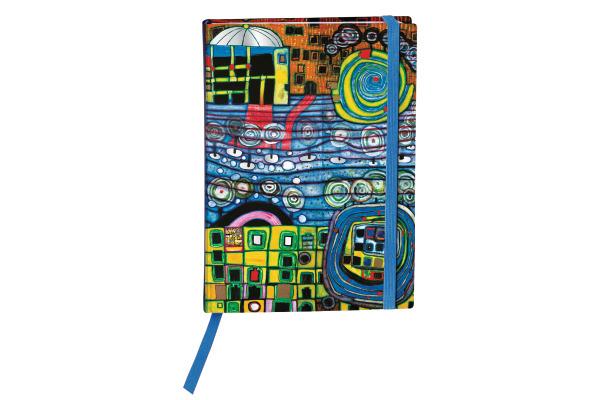 WÖRNER Hundertwasser Agenda 1W/2S 946177494 DE/EN/FR, 15.4x11.2cm, 2021