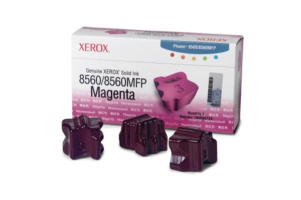XEROX Color Stix magenta 108R00724 Phaser 8560 3 Stück