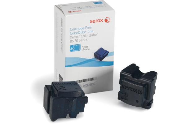 XEROX Color Stix cyan 108R00931 ColorQube 8570 2 Stück