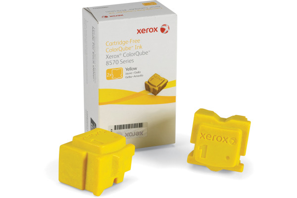 XEROX Color Stix yellow 108R00933 ColorQube 8570 2 Stück