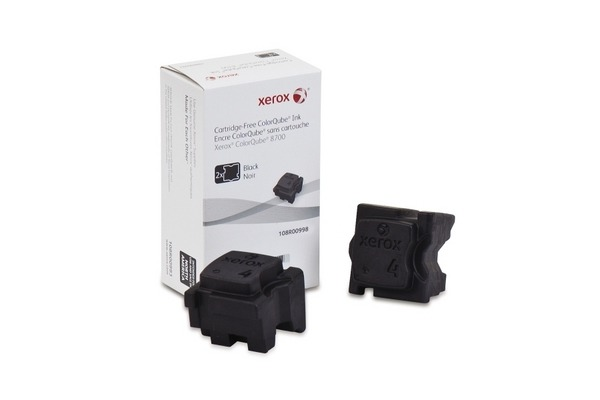 XEROX Color Stix schwarz 108R00998 ColorQube 8700 2 Stück