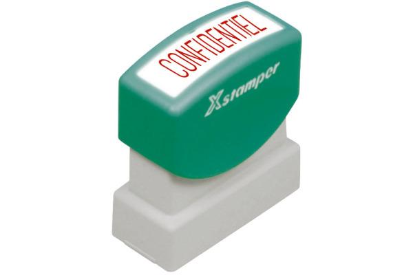XSTAMPER Stempel Confidentiel F110-R rot F