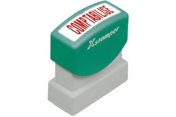 XSTAMPER Stempel Comptabilisé F129-R rot F