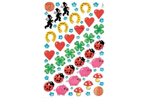 Z-DESIGN Sticker Creative 4413 Glückssymbole 2...