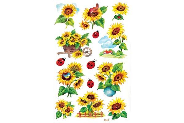 Z-DESIGN Sticker Creative 54171 Sonnenblumen 2...