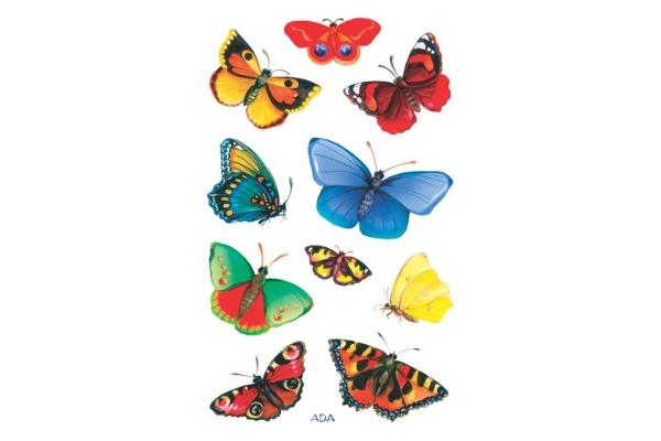 Z-DESIGN Sticker Creative 55710 Schmetterlinge 3...