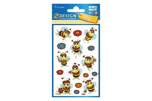 Z-DESIGN Sticker Bienen, glitter 56064 1 Blatt, 76x120mm