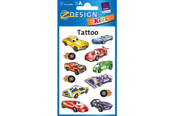 Z-DESIGN Sticker Tattoo 56685 Autos