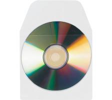 3L CD/DVD Hülle 127x127mm 6832-10 PP, transp., selbstkl.10 Stück