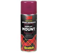 3M Spray DisplayMount 400ml DM/400 Sprühkleber Für dauerhafte Verbindungen , für ein- und beidseitigen Klebstoff-Auftrag , sehr hohe Klebkraft , Gefahrenhinweise: Bitte vor Gebrauch die Kennzeichnung und Produktinformationen beachten.,