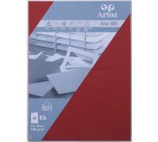 ARTOZ Karten 1001 E6 107372265 220g, weinrot 5 Blatt