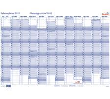 BEREC Jahresplan quer 90x60cm B5670TF/2 2022, blau