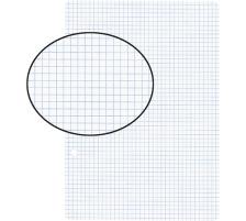 BIELLA Einlageblätter A5 450524.00 weiss,kar. 4mm,2-Loch 100Bl.