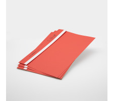 BOFIX Aktenheft rot 215725002 80g 50 Stück Für den täglichen internen und externen Schriftverkehr , aus Aktenkarton , Rücken mit Falz , für bis ca. 10 Blatt A4 80 g/m²., Grammatur 80g/m², Anzahl (Stück) 50, Fas