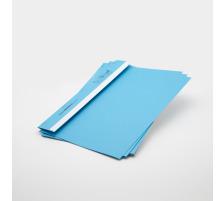 BOFIX Aktenheft blau 215725003 80g 50 Stück Für den täglichen internen und externen Schriftverkehr , aus Aktenkarton , Rücken mit Falz , für bis ca. 10 Blatt A4 80 g/m²., Grammatur 80g/m², Anzahl (Stück) 50, Fa