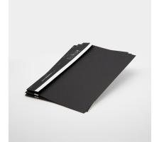 BOFIX Aktenheft schwarz A4 215725009 80g 50 Stück Für den täglichen internen und externen Schriftverkehr , aus Aktenkarton , Rücken mit Falz , für bis ca. 10 Blatt A4 80 g/m²., Grammatur 80g/m², Anzahl (Stück)
