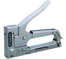 BOSTITCH Handtacker 6-TR45 metall 6-10mm Vorteilhafte Pistole für Privat und Büro , Klammern 1-TRA204T, 6 mm - 101 018 und 1-TRA205T, 8 mm - 101 019., Material: Stahl, Zubehör Nein, Heftleistung Blatt max. 10, Heftertyp Heftpistole, Sc