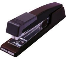 BOSTITCH Heftapparat B440 2mm B440F-bla schwarz für 20 Blatt Metall-Apparat, offene und geschlossene Heftung, rutschfester Untergrund, Heftkapazität 20 Blatt, (Klammern SBS19¼CP, 6 mm - 105 025)., Zubehör Nein, Heftleistung Blat