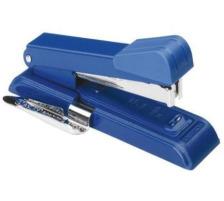 BOSTITCH Bürohefter B8 B8REWX blau für 30 Blatt/3mm Millionenfach bewährt , sehr robuste Ausführung , 200 Klammern gratis dazu , 50 % mehr Blattkapazität wie ein Standardhefter , max. Heftkapazität 30 Blatt (Klammern SB8
