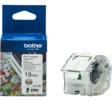 BROTHER Colour Paper Tape 19mm/5m CZ-1003 VC-500W Compact Label Printer